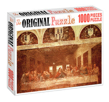 The Last Supper is Wooden 1000 Piece Jigsaw Puzzle Toy For Adults and Kids