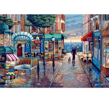 Market Visit is Wooden 1000 Piece Jigsaw Puzzle Toy For Adults and Kids
