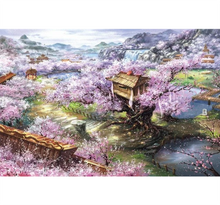 Chinese Autumn season is Wooden 1000 Piece Jigsaw Puzzle Toy For Adults and Kids