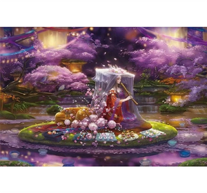 Beautiful Flute Player is Wooden 1000 Piece Jigsaw Puzzle Toy For Adults and Kids