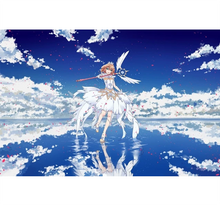 Card Capter Sakura is Wooden 1000 Piece Jigsaw Puzzle Toy For Adults and Kids