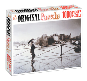 Crossing Bridge is Wooden 1000 Piece Jigsaw Puzzle Toy For Adults and Kids