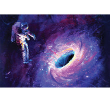 Journey to Black Hole Wooden 1000 Piece Jigsaw Puzzle Toy For Adults and Kids