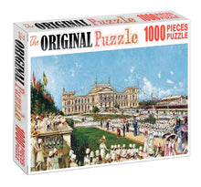 Royal Function is Wooden 1000 Piece Jigsaw Puzzle Toy For Adults and Kids