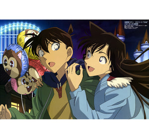 Detective Conan Wooden 1000 Piece Jigsaw Puzzle Toy For Adults and Kids