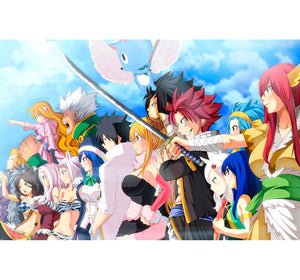 Fairy Tail Ready to War Wooden 1000 Piece Jigsaw Puzzle Toy For Adults and Kids