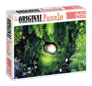 Sleeping in a Abyss is Wooden 1000 Piece Jigsaw Puzzle Toy For Adults and Kids