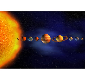 Solar Planets Wooden 1000 Piece Jigsaw Puzzle Toy For Adults and Kids