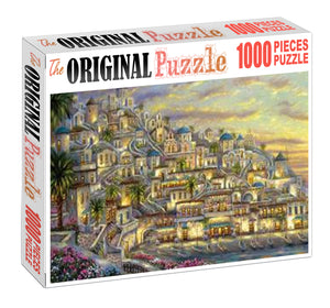 City of Persia is Wooden 1000 Piece Jigsaw Puzzle Toy For Adults and Kids