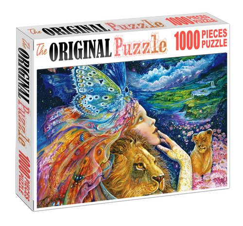 Fairy Queen Wooden 1000 Piece Jigsaw Puzzle Toy For Adults and Kids