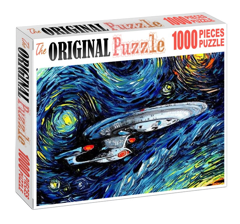 Warship Painting is Wooden 1000 Piece Jigsaw Puzzle Toy For Adults and Kids