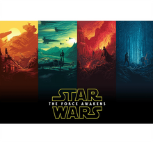 The Force Awakens is Wooden 1000 Piece Jigsaw Puzzle Toy For Adults and Kids