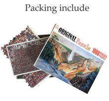 Canyon Mountain Painting is Wooden 1000 Piece Jigsaw Puzzle Toy For Adults and Kids