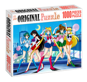 Astro Girls Wooden 1000 Piece Jigsaw Puzzle Toy For Adults and Kids