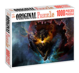 Diablo Beast Wooden 1000 Piece Jigsaw Puzzle Toy For Adults and Kids