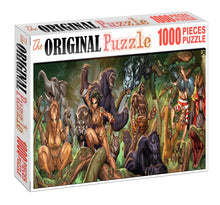Jungle Beasts Wooden 1000 Piece Jigsaw Puzzle Toy For Adults and Kids