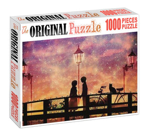 Lover's Point is Wooden 1000 Piece Jigsaw Puzzle Toy For Adults and Kids