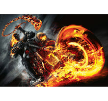 Ghost Rider Wooden 1000 Piece Jigsaw Puzzle Toy For Adults and Kids