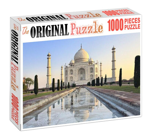 Taj Mahal is Wooden 1000 Piece Jigsaw Puzzle Toy For Adults and Kids