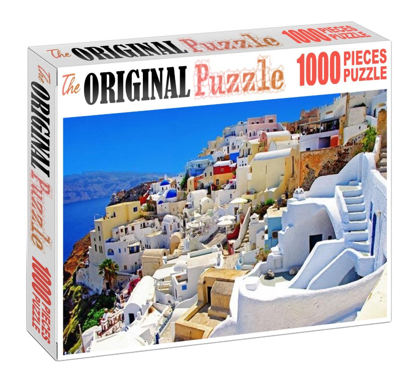Lovely City of Italy is Wooden 1000 Piece Jigsaw Puzzle Toy For Adults and Kids