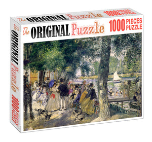 Crowd Gathering is Wooden 1000 Piece Jigsaw Puzzle Toy For Adults and Kids