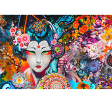 Chinese Beauty Art is Wooden 1000 Piece Jigsaw Puzzle Toy For Adults and Kids