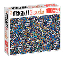 Geometrical Pattern Wooden 1000 Piece Jigsaw Puzzle Toy For Adults and Kids
