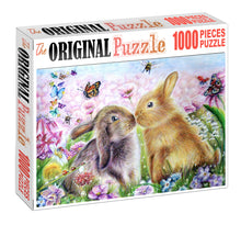 Esater Bunnies Wooden 1000 Piece Jigsaw Puzzle Toy For Adults and Kids