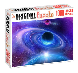 Blue Planet is Wooden 1000 Piece Jigsaw Puzzle Toy For Adults and Kids