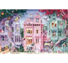 Bubble City is Wooden 1000 Piece Jigsaw Puzzle Toy For Adults and Kids