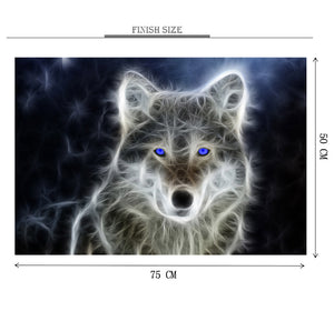 Wolf of Silk Wooden 1000 Piece Jigsaw Puzzle Toy For Adults and Kids