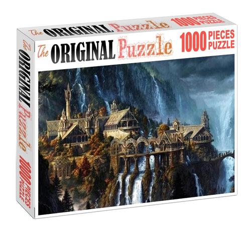 War Lord Castle is Wooden 1000 Piece Jigsaw Puzzle Toy For Adults and Kids