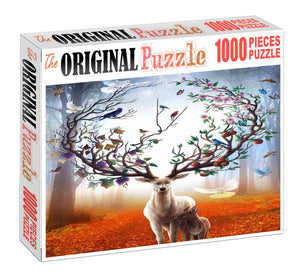 Nature Guardian is Wooden 1000 Piece Jigsaw Puzzle Toy For Adults and Kids
