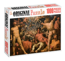 Wrath of Manhood is Wooden 1000 Piece Jigsaw Puzzle Toy For Adults and Kids