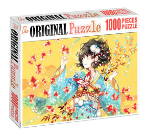 Lady of Spring Wooden 1000 Piece Jigsaw Puzzle Toy For Adults and Kids