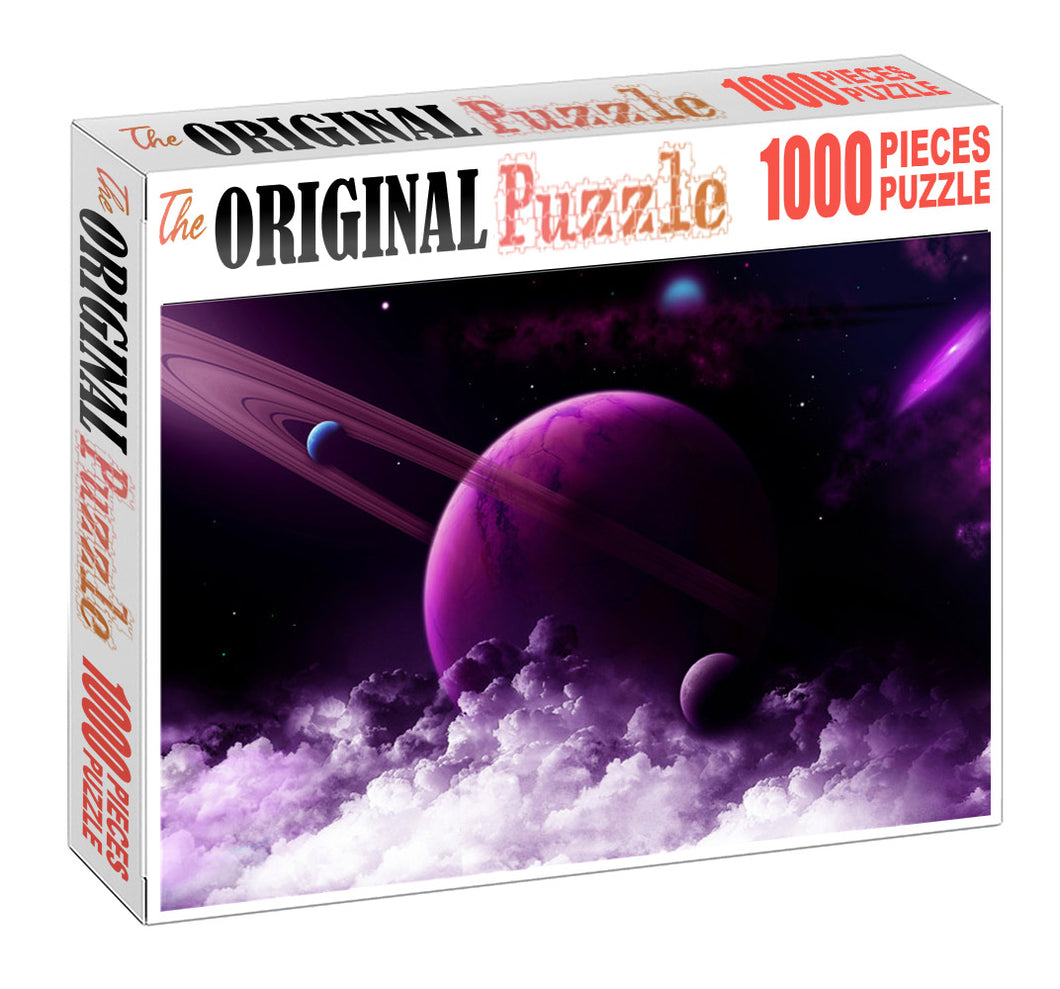 Dwarf Planet Wooden 1000 Piece Jigsaw Puzzle Toy For Adults and Kids