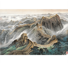 China Wall Painting is Wooden 1000 Piece Jigsaw Puzzle Toy For Adults and Kids