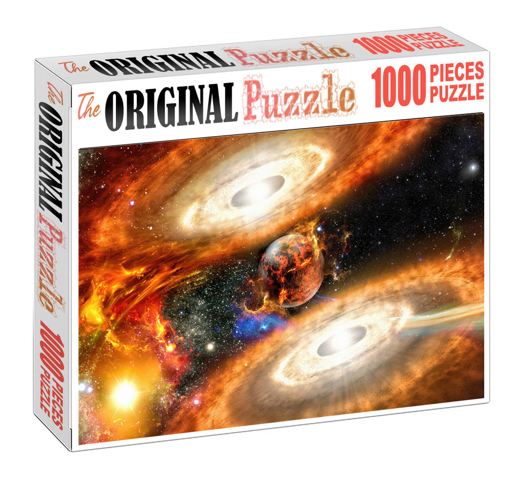 Parallel World Wooden 1000 Piece Jigsaw Puzzle Toy For Adults and Kids