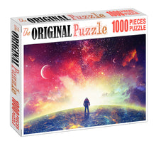 Lost in Space Wooden 1000 Piece Jigsaw Puzzle Toy For Adults and Kids