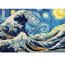 Sea Wave Painting is Wooden 1000 Piece Jigsaw Puzzle Toy For Adults and Kids