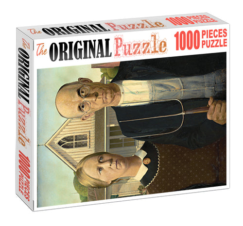 Husband Wife is Wooden 1000 Piece Jigsaw Puzzle Toy For Adults and Kids