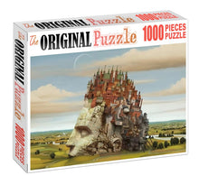 City in my Mind is Wooden 1000 Piece Jigsaw Puzzle Toy For Adults and Kids