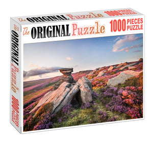 Peace Stone Wooden 1000 Piece Jigsaw Puzzle Toy For Adults and Kids
