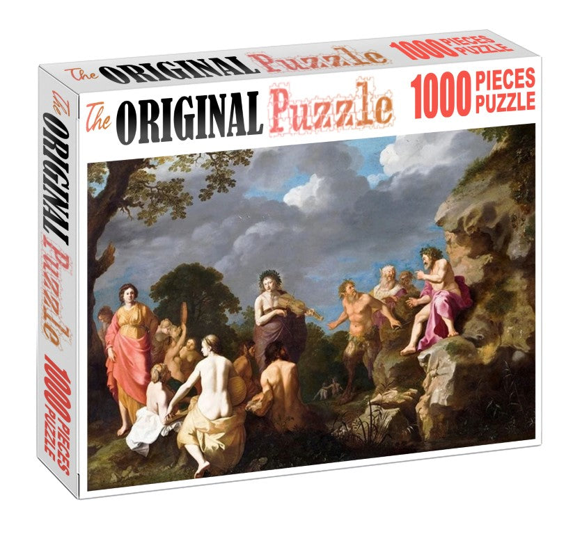 Song of Romans is Wooden 1000 Piece Jigsaw Puzzle Toy For Adults and Kids