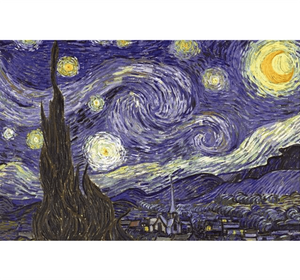 Wirling Night Painting is Wooden 1000 Piece Jigsaw Puzzle Toy For Adults and Kids