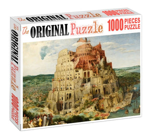 City Inferno is Wooden 1000 Piece Jigsaw Puzzle Toy For Adults and Kids