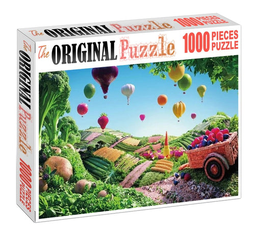 World of Grocery is Wooden 1000 Piece Jigsaw Puzzle Toy For Adults and Kids