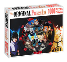 Naruto Demon Circle Wooden 1000 Piece Jigsaw Puzzle Toy For Adults and Kids