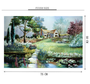 Over River to Home is Wooden 1000 Piece Jigsaw Puzzle Toy For Adults and Kids
