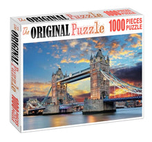 Twin Tower Bridge is Wooden 1000 Piece Jigsaw Puzzle Toy For Adults and Kids